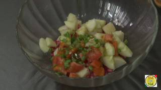 Potato and Pomegranate salad ..