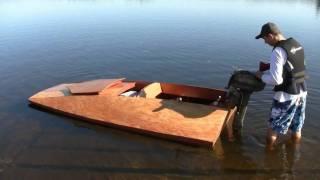 getlinkyoutube.com-How To Build A Boat - TU-9 Tunnel Hull HD