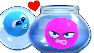 Colors With Water Painting | WonderBalls Playground | Cartoon Candy