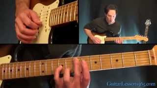 getlinkyoutube.com-Psycho Guitar Lesson - Muse (Complete Song)