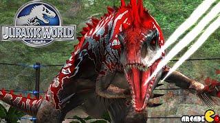 getlinkyoutube.com-HYBIRD Indominus Rex Battle Buildup Legendary Pack Rewarded - Jurassic World The Game!