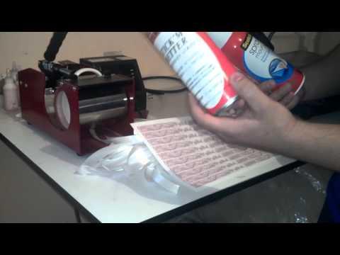 Pulseras sublimacion tutorial y consejos de papel