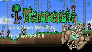 getlinkyoutube.com-Terraria 1.3.0.8 Easy Moonlord Farming/First Time Kills