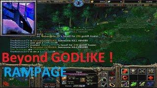getlinkyoutube.com-DotA 6.83d - Viper Beyond GODLIKE! + (RAMPAGE) NEW KILL RECORD