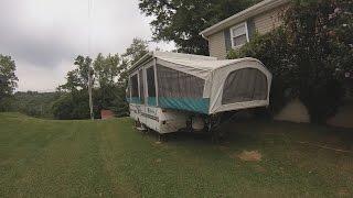 getlinkyoutube.com-$ 300 Pop-Up Camper