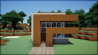 getlinkyoutube.com-Minecraft: CONSTRUA UMA CASA MODERNA EM 5 MINUTOS! 2 (NO SURVIVAL)