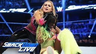 getlinkyoutube.com-Naomi vs. Natalya: SmackDown LIVE, Nov. 8, 2016