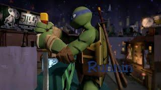 getlinkyoutube.com-TMNT 2012~Leonardo~Runnin`