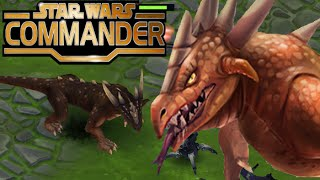 Star Wars Commander Empire | Krayt Dragon its a REAL MONSTER ! (2 Years Anniversary)  (Ep # 147)