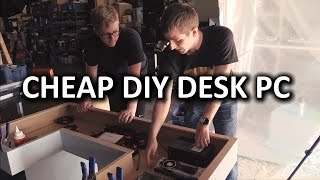 getlinkyoutube.com-Ultimate DIY Desk PC - Desk Construction