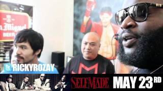 Rick Ross rencontre Manny Pacquiao