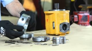 getlinkyoutube.com-Hydraulic Vane Pump Repair
