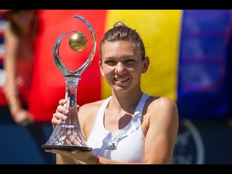 2016 Coupe Rogers Final WTA Highlights | Simona Halep vs Madison Keys
