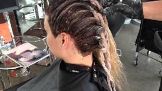 getlinkyoutube.com-Verve Hair TV Senior Stylist Loretta with the New Color i.d