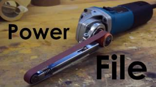 getlinkyoutube.com-Power File Build! (Angle Grinder Attachment)