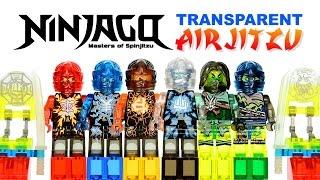 getlinkyoutube.com-Ninjago Transparent Airjitzu LEGO KnockOff Minifigures Set 26 Review