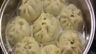 getlinkyoutube.com-Steamed pork buns (Jjinppang-mandu: 찐빵만두)