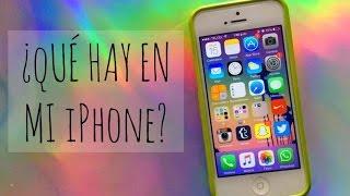 ¿Qué hay en mi iPhone? + Edicion de fotos!