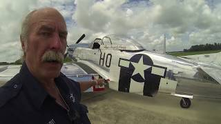 North American P-51D Mustang - Part 1 / Walkaround - Kermie Cam