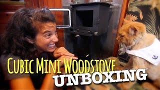 getlinkyoutube.com-Cubic Mini Wood Stove Unboxing
