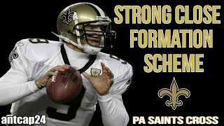 getlinkyoutube.com-Madden 16 Money Plays - Strong Close - PA Saints Cross - Saints Playbook