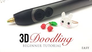 getlinkyoutube.com-3Doodler 2.0 Tutorial - Easy Guide for Beginners on DIY 3D Printing Pen!