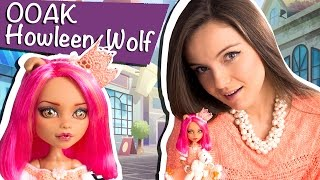 getlinkyoutube.com-Howleen Wolf OOAK (Хоулин Вульф ООАК A Pack Of Trouble) Monster High/Школа Монстров