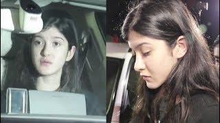 Jhanvi Kapoor Sister Shanaya Kapoor Crying For Sridevi