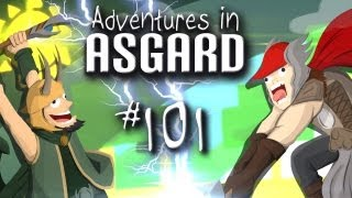 "Adventures in Asgard w/ Nova, Ze, & Kootra - Ep. 101 ""Suiting Up"" (Minecraft)"