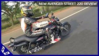 getlinkyoutube.com-Bajaj Avenger 220 Street Review | 150 Street | First Ride India | RWR