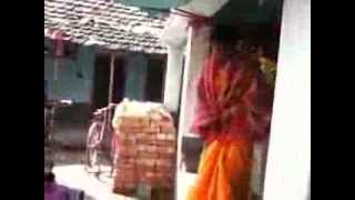 getlinkyoutube.com-Tamil Lady On Marriage day before bath