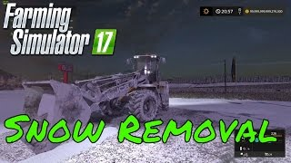 getlinkyoutube.com-Farming simulator 2017 Snow Removal