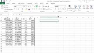 getlinkyoutube.com-How to import X,Y Coordinates from Excel to AutoCAD