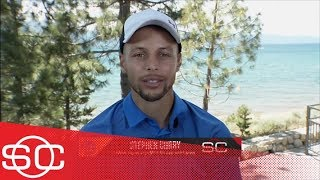 Stephen Curry on LeBron James to Lakers: It creates 'suspense' for the league | SportsCenter | ESPN