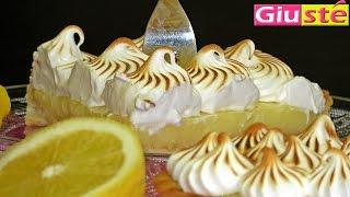 getlinkyoutube.com-Tarte au citron meringuée.La recette de Giusté.