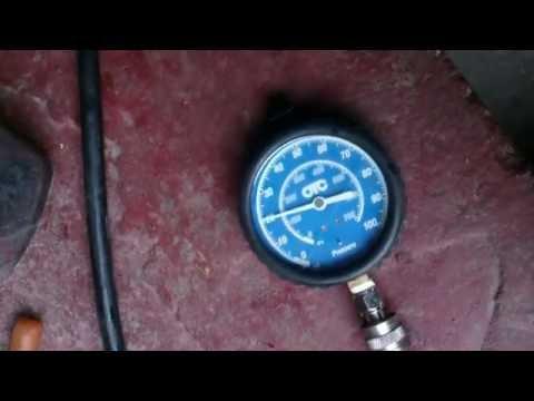 Где находится датчик давления масла в Ford Сиерра