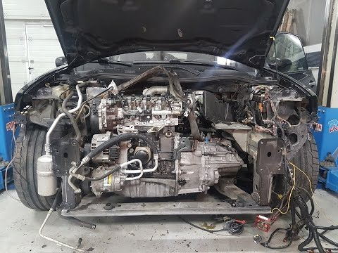 Megane 2 1.9dci engine disassembly and dmf/clutch upgrade