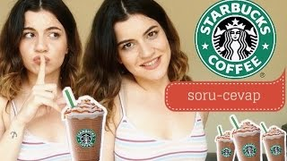 PELİNSU İLE STARBUCKS SORU CEVAP | Nasıl Sipariş Verilir? (Starbucks Dili)