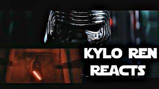 getlinkyoutube.com-Kylo Ren Reacts To Rogue One Ending