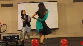 getlinkyoutube.com-Nepali Dance (Dashain Night) performed by Sneha & Apsana