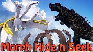 getlinkyoutube.com-Minecraft Mods | MORPH HIDE AND SEEK - CRAZYCRAFT BOSSES! (Orespawn Mod, CrazyCraft)
