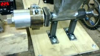 getlinkyoutube.com-Самодельный экструдер для изготовления прутка к 3D Printer