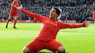 getlinkyoutube.com-Luis Suarez's 82 Goals For Liverpool