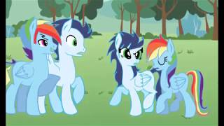 getlinkyoutube.com-Rainbow Dash x Soarin ( BAD BOY )