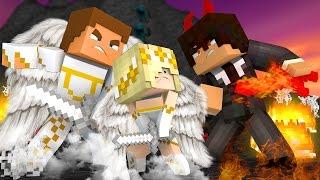 getlinkyoutube.com-SAVING OUR FAMILY FROM EVIL JOHNATHON w/ ANGEL BABY LEAH!! Minecraft FAMILY LIFE!!