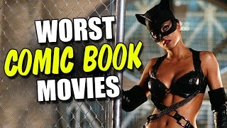 getlinkyoutube.com-Top 10 WORST Comic Book Movies