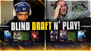 getlinkyoutube.com-BLIND DRAFT AND PLAY VS. VIC! HE ROBBED ME OF THE BEST HALFBACK!!! Madden 17 Draft Challenge