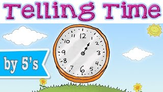Telling Time with Minutes - Learning Chant for Kids