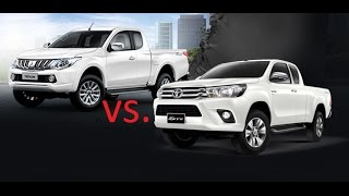 getlinkyoutube.com-Toyota REVO  vs.  Mitsubishi Triton