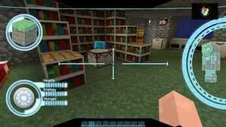 getlinkyoutube.com-Texture Pack Iron Man Minecraft 1.7.2 - 1.7.4